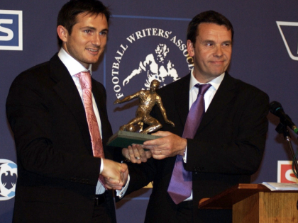 When Frank Lampard won Footballer of the Year